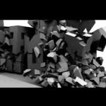 3D ncloth dynamics maya simulation.